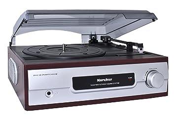 Karcher Industrial Products KA 8050 - Tocadiscos para equipo de audio, plateado