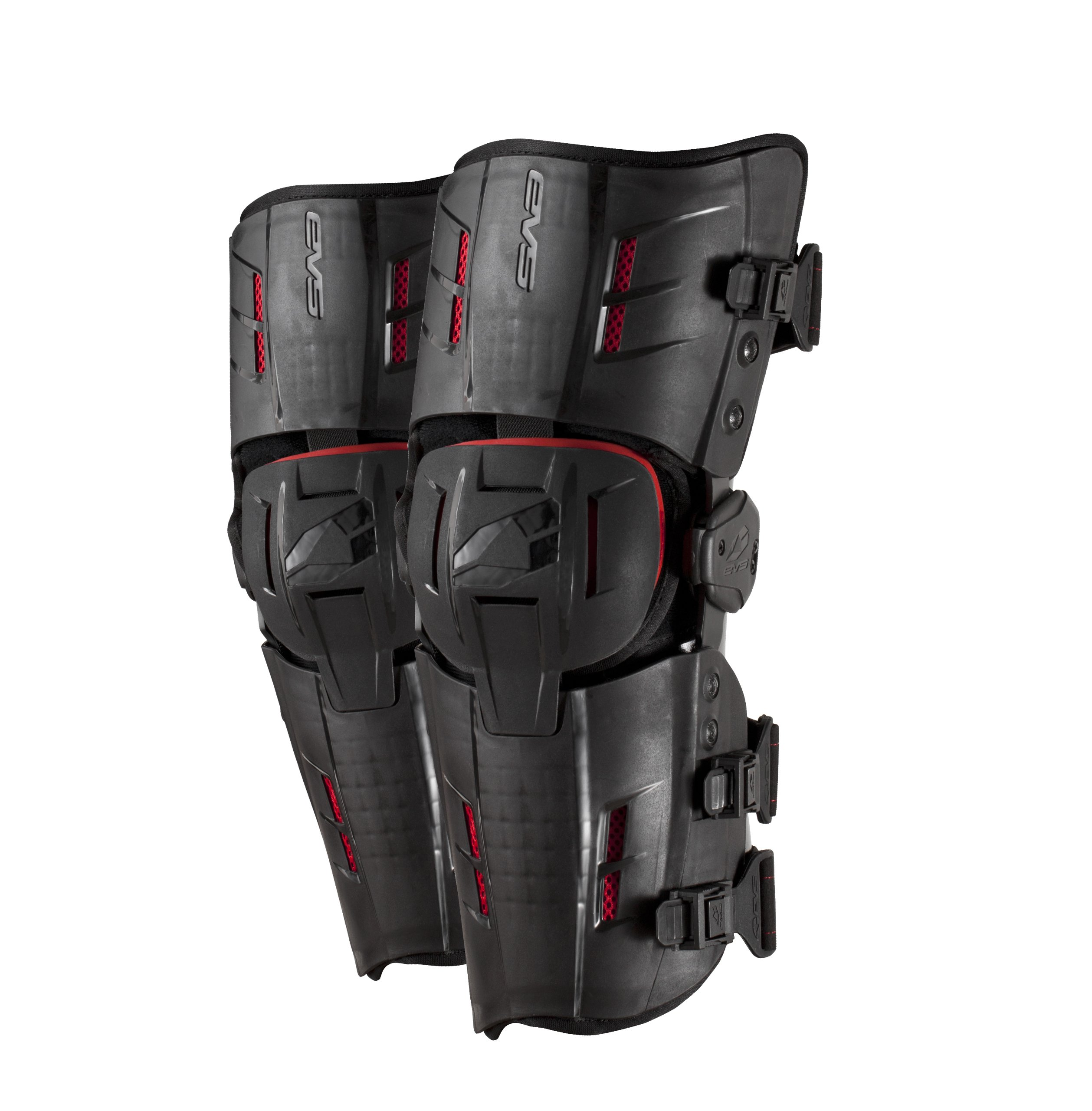 EVS Sports RS9 Knee Braces (Black, Large)