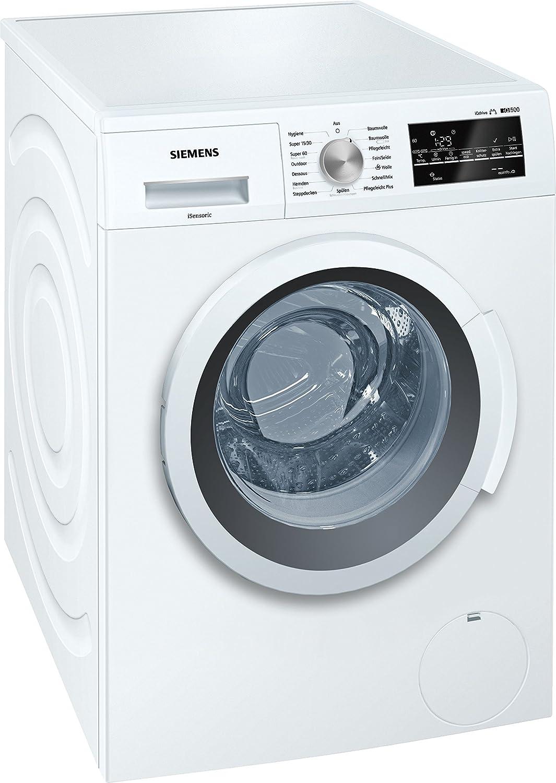 Siemens iQ500 WM14T410 Independiente Carga frontal 7kg ...