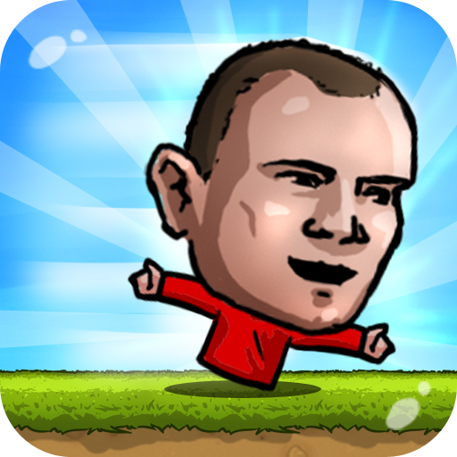 Puppet Runner-Hand Footballers in big head nofeet Marionette World (Big Head Sports)