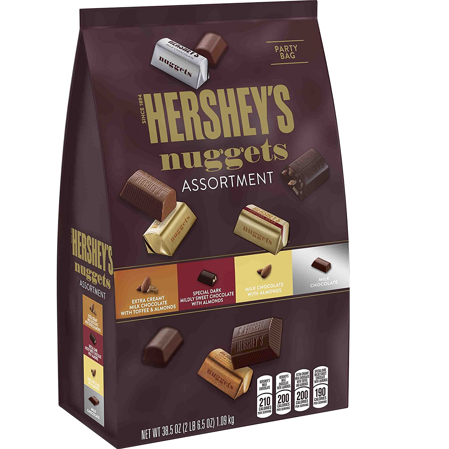 Amazon.com : Hershey's Nuggets Chocolates Assortment, 38.5 oz ...