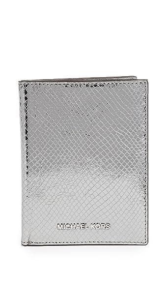 312c7553b40c MICHAEL Michael Kors Women s Money Pieces Passport Wallet
