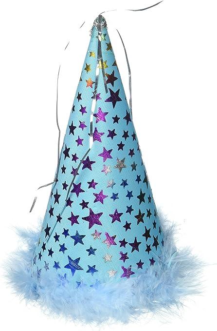 Amazon.com: Encantador gorro de fiesta, L, Azul: Mascotas