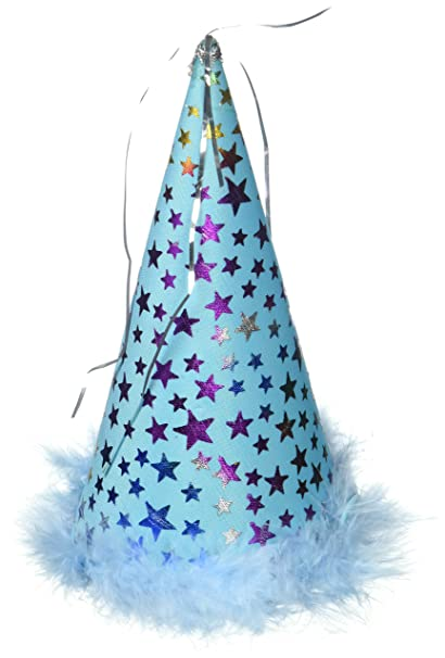 Charming Party Hat Blue Large