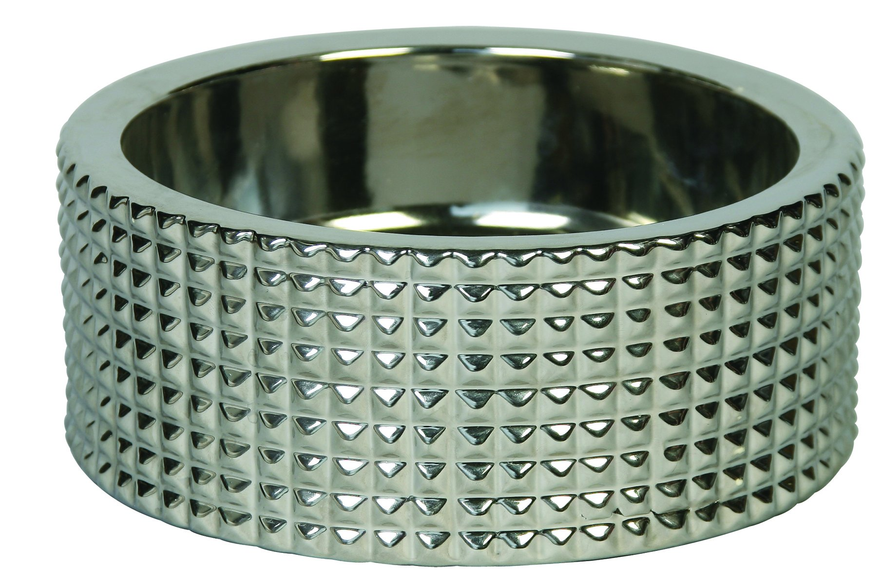 Unleashed Life Berlin Nickel Plated Porcelain Collection, X-Small