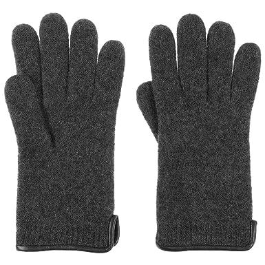 Hut-Kaufen Woolmark Herren Handschuh aus gewalkter Schurwolle