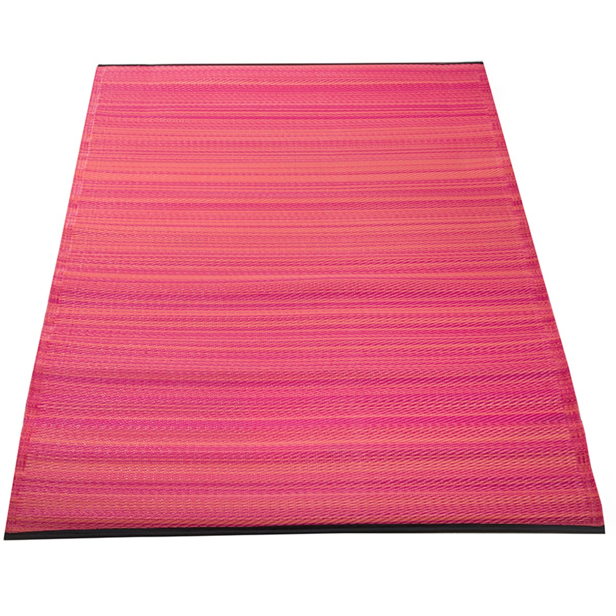 Yankee Trader 4' X 6' Indoor/Outdoor Decorative Reversible Patio Carpet Rug, Pattern 11