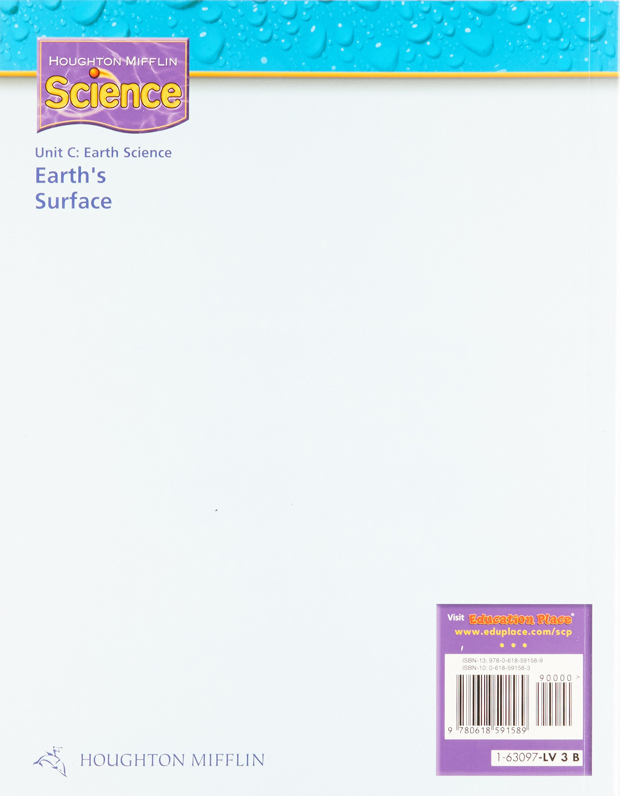 Science (Houghton Mifflin Unit C Earth's Surface)
