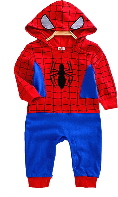 VogueFashion Baby Superhero Jumpsuit