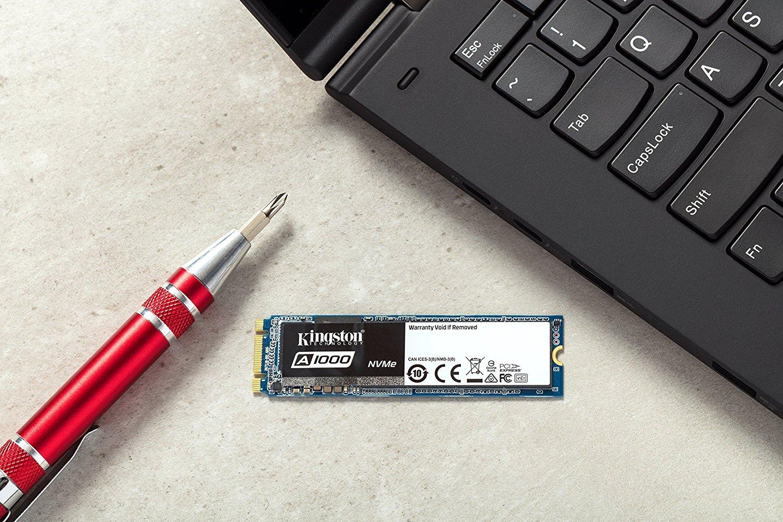 M.2 2280 240 GB Kingston SA1000M8//240G Unit/à a Stato Solido Interna SSD A1000 PCIe NVMe