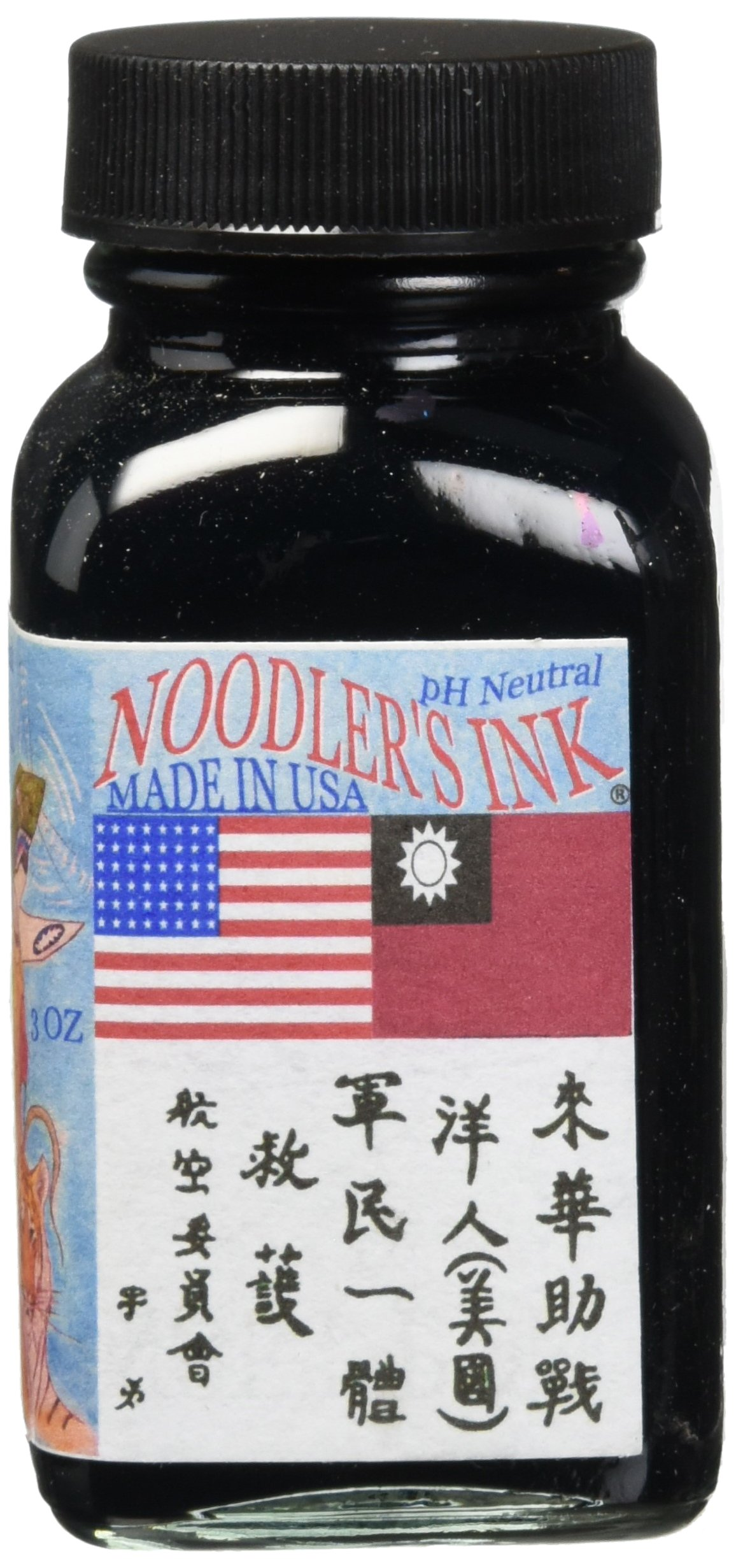 Noodlers Ink 3Oz Aircorp Blue Black by Noodler's (Image #1)