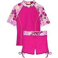 Tuga Girls Two-Piece Bathing Suit 2-14 Years, UPF 50+ Sun Protection Swim Set