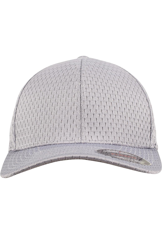 307927ce Flexfit Athletic Mesh Stretchable Cap - silver