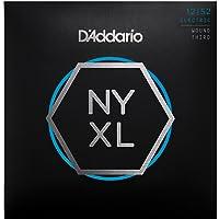 D'Addario NYXL1252W Nickel Wound Electric Guitar Strings, Light Wound 3rd, 12-52