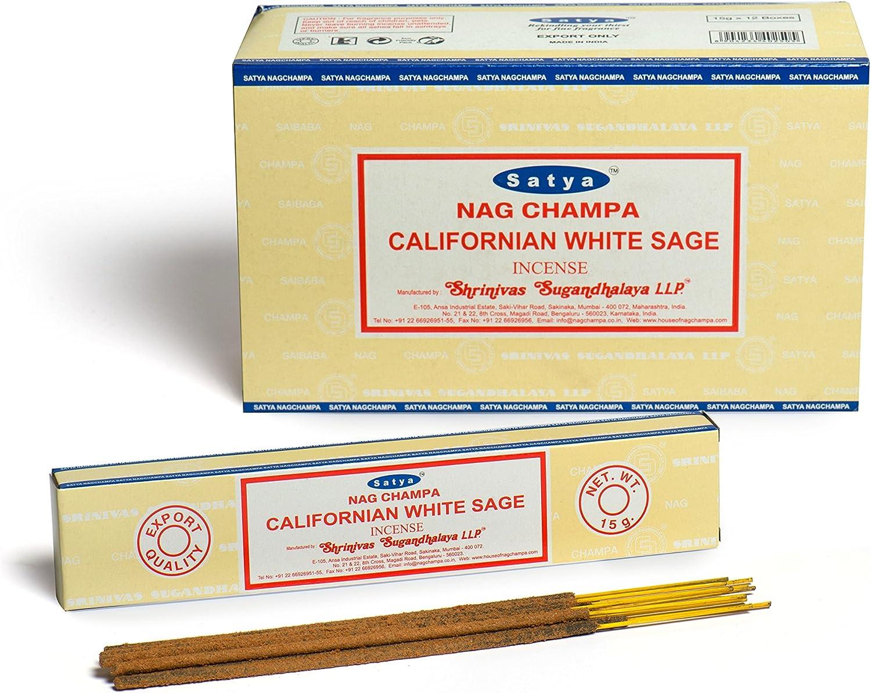 VCINC1000 Satya Set Regalo di incenso Assortito Formato B 15 g 12 Confezioni