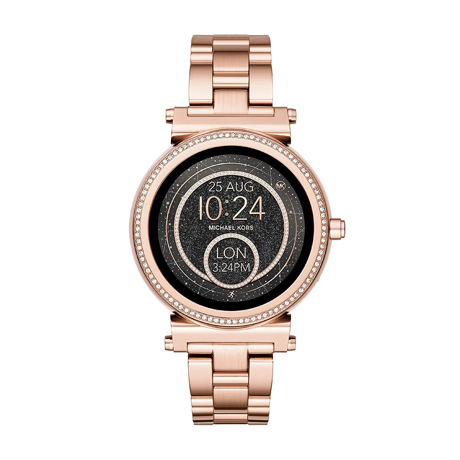 4df2692ccfbe Michael Kors Women s Smartwatch Sofie MKT5022  Amazon.co.uk  Watches