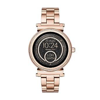 c11f31c07e47 Michael Kors Women s Smartwatch Sofie MKT5022  Amazon.co.uk  Watches