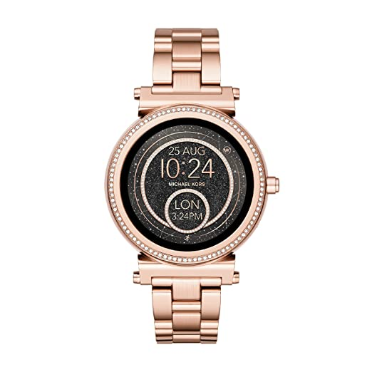 326c09eab9a6e Image Unavailable. Image not available for. Colour  Michael Kors Women s  Smartwatch ...