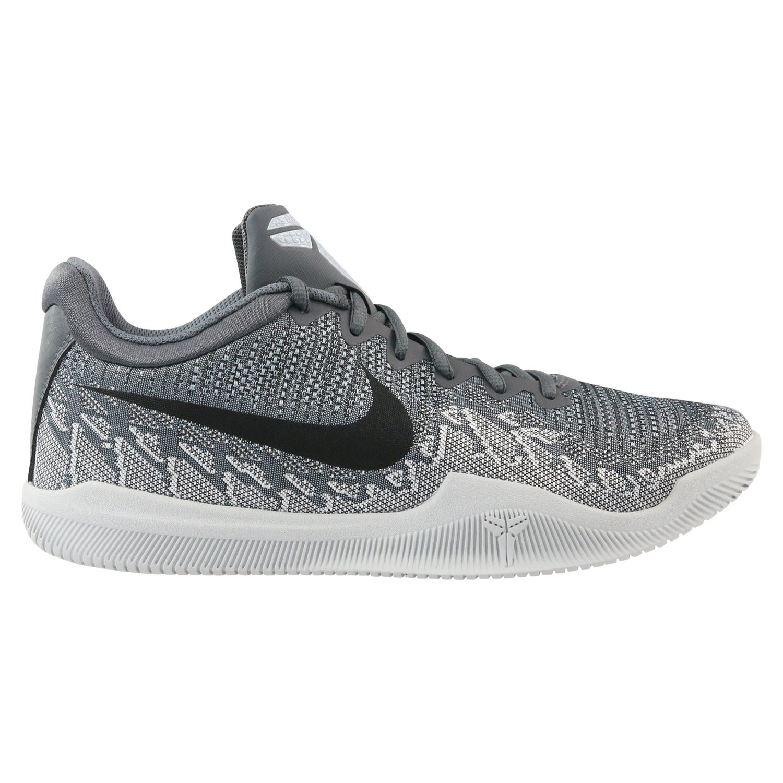 NIKE Men's Mamba Rage Basketball Shoes B07C4W2DGJ 8.5 D(M) US Dark Grey/Black/Pure Platinum/White