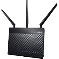 ASUS RT-AC68U Router Gaming inalámbrico AC1900 Dual-band Gigabit (punto de acceso/repetidor, USB, soporta 3G/4G…