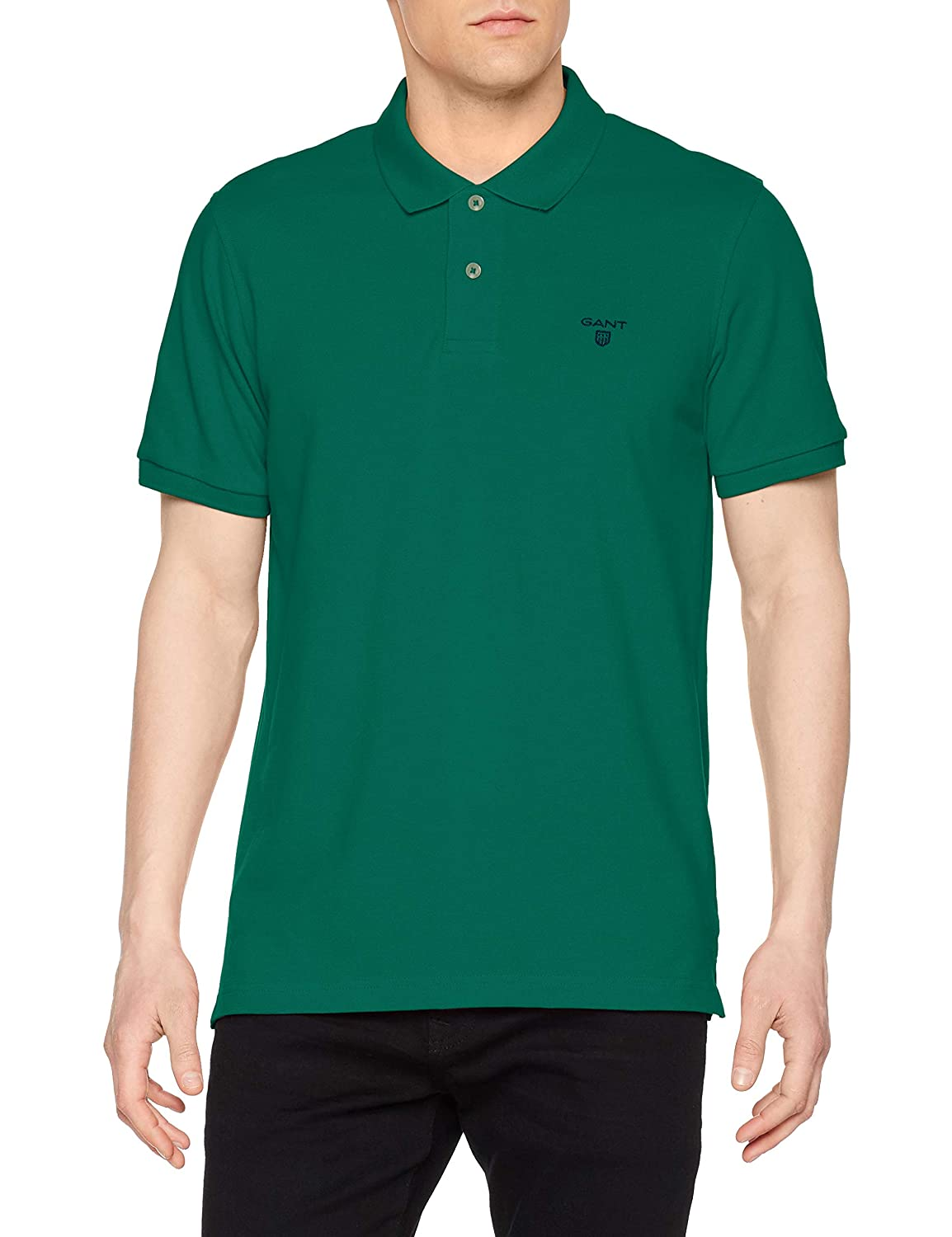 GANT MD. The Summer Pique SS Rugger Polo para Hombre: Amazon.es ...