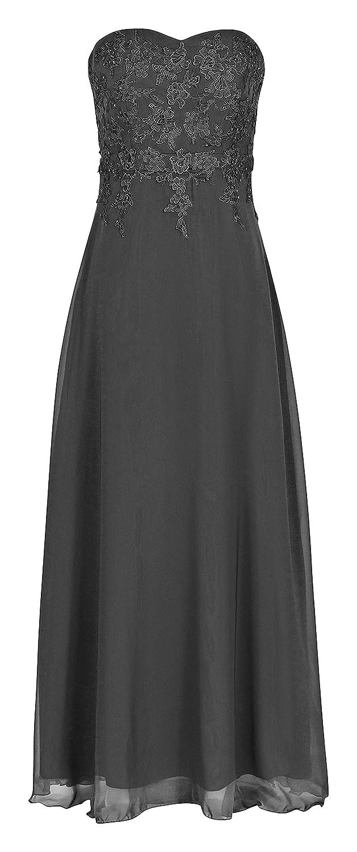Chiffon Abendkleid Ballkleid Hochzeitskleid Festkleid 1520 Schwarz
