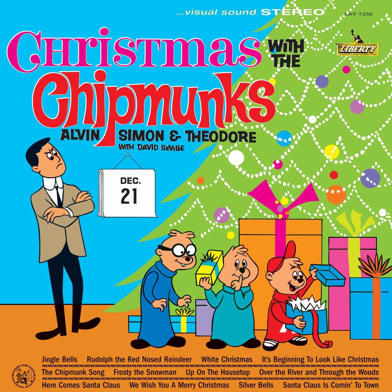 The Chipmunks - Christmas With The Chipmunks [LP] - Amazon.com Music