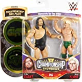WWE The Giant vs Ric Flair Championship Showdown 2-Pack 6-in / 15.24-cm Action Figures Monsters of the Ring Battle Pack for A