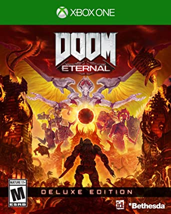 Doom Eternal Deluxe Edition Xbox One Video Games