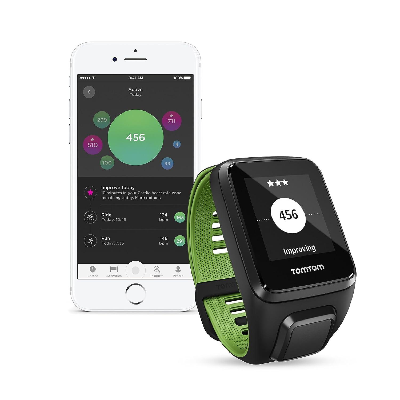 Tomtom Runner 3 Cardio Musik Gps Sportuhr Inkl Bluetooth Jam Tangan M2 Health Bracelet Kopfhrer Routenfunktion 3gb Speicherplatz Fr Eingebauter Herzfrequenzmesser