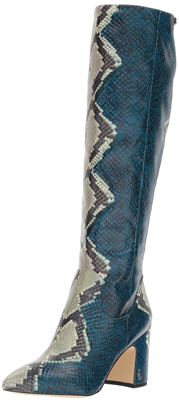Peacock bluee Multi Snake Print Sam Edelman Womens Hai Knee High Boot