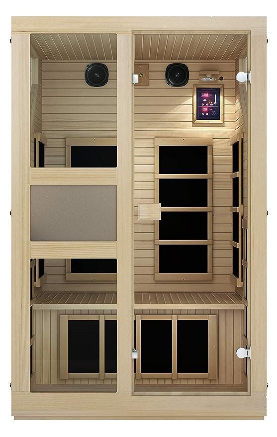 Best Infrared Sauna: JNH Lifestyles NE2HB1