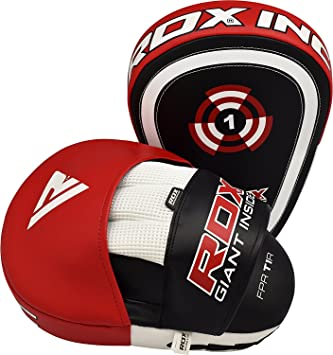 Thai Kick Boxing Strike Arm Pad Focus Punch Shield Mit Sporting Goods Boxing, Martial Arts & Mma