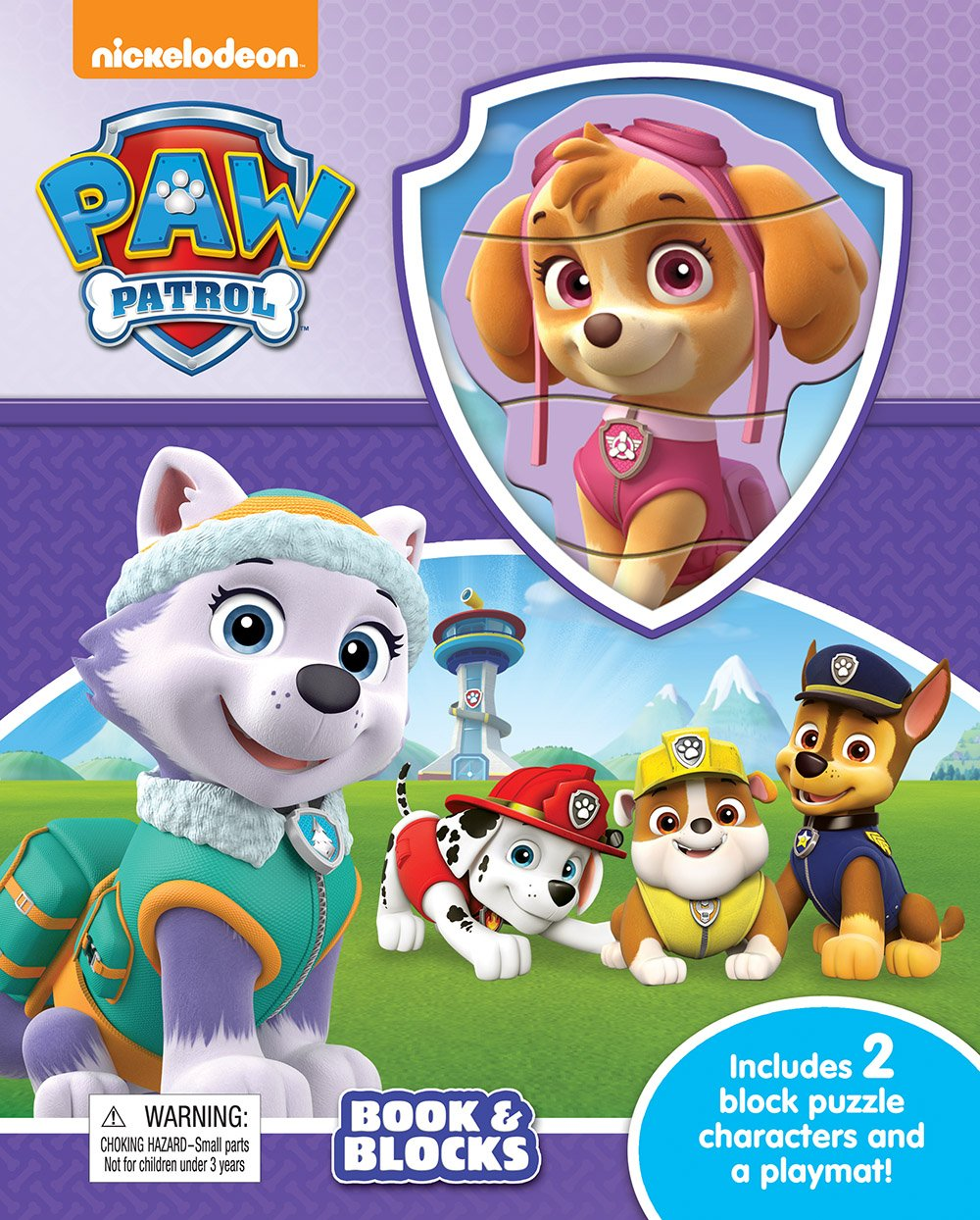 Download Paw Patrol Book & Blocks ebook