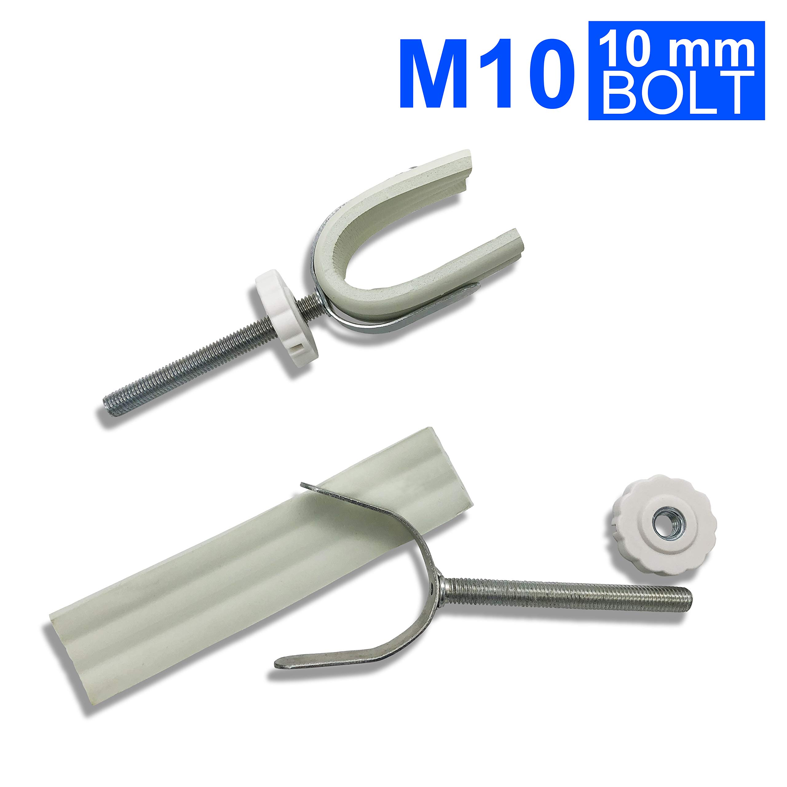 Sungrace Y Spindle Banister Gate Adaptors for Pressure Mounted Baby Gates (2 Pack, 10mm)