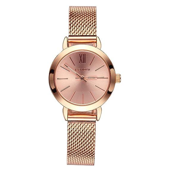 KASHIDUN Women s Watches Gorgeous Luxury Dress Quartz Wrist Watches  Waterproof Watches Small Diamonds Dial Mesh Milanese f914c26b23