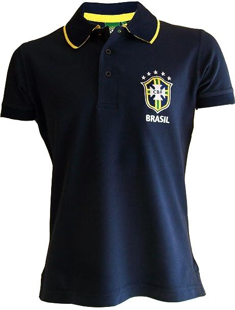 Camiseta polo oficial de la selección de fútbol de Brasil, para ...