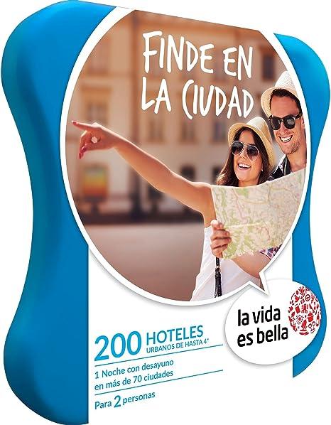 LA VIDA ES BELLA - Caja Regalo - FINDE EN LA CIUDAD - 230 hoteles urbanos de hasta 4*: Amazon.es: Deportes y aire libre