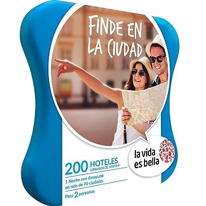 LA VIDA ES BELLA - Caja Regalo - FINDE EN LA CIUDAD - 230 hoteles urbanos