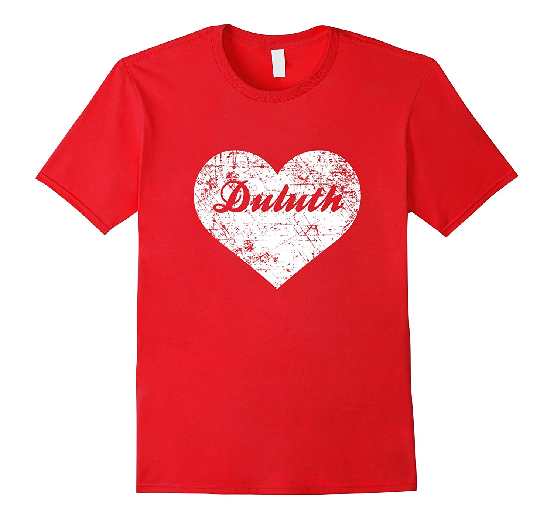 I Love Duluth Shirt Funny Cute Minnesota Gift Souvenir-TD