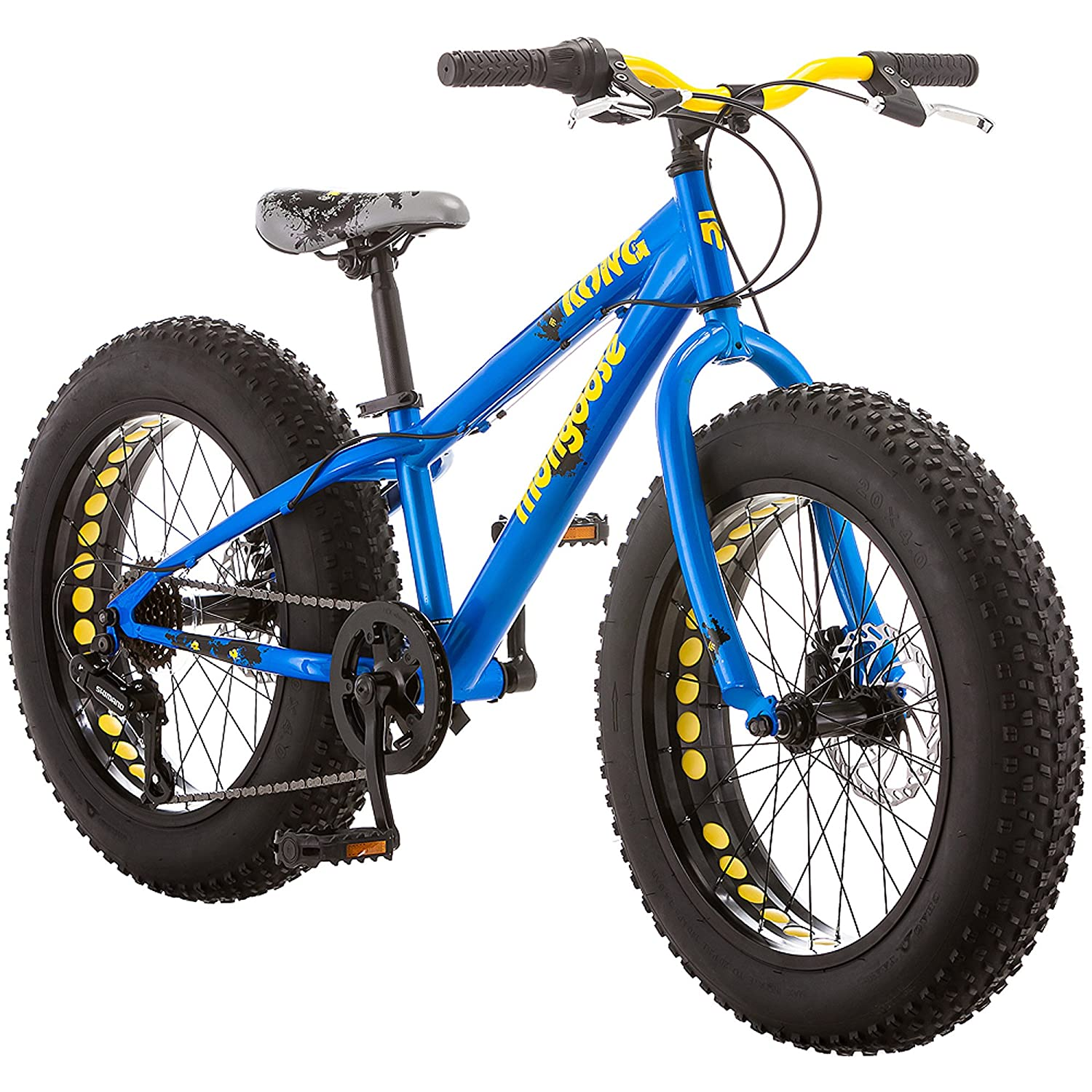 Amazon.com : Mongoose Kong Boy\'s Fat Tire Bike, 20\