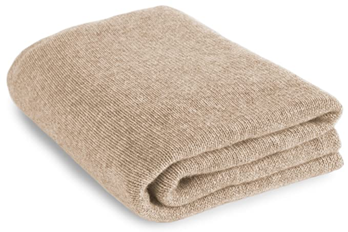 Love Cashmere Large 100% Cashmere Bed Blanket - Light Natural - Made to  Order 74aa8ee88