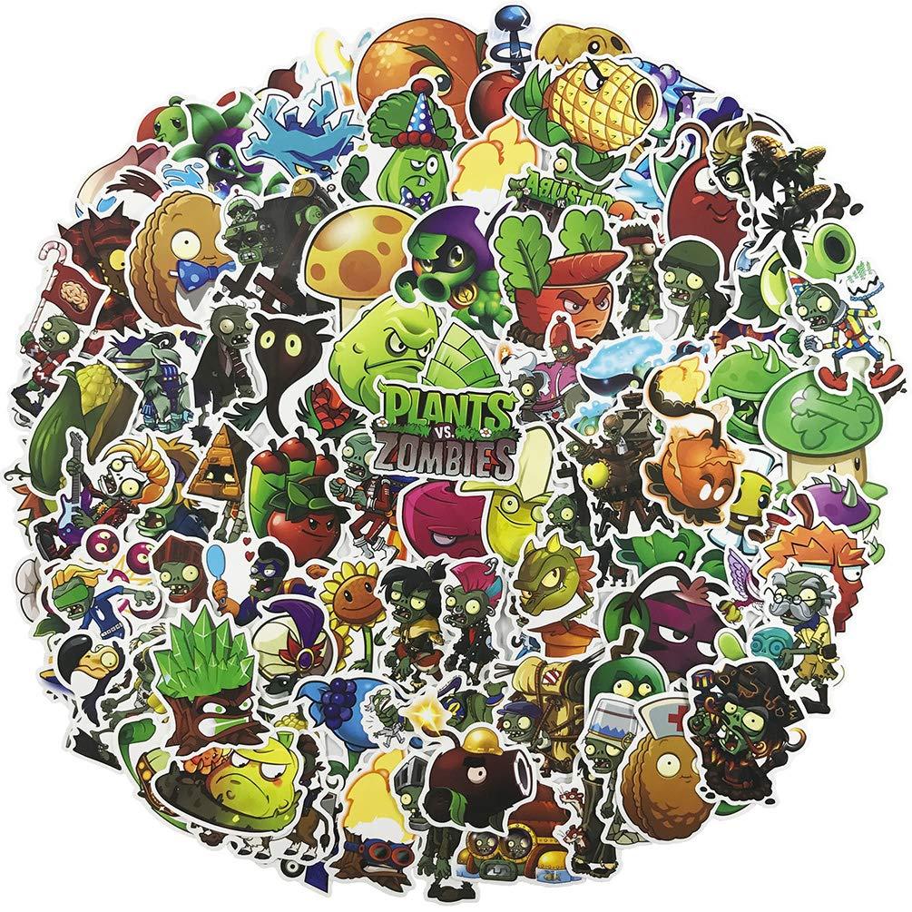 Stickers Calcos 100 Un. Plants Vs. Zombies (7rd8whkf)