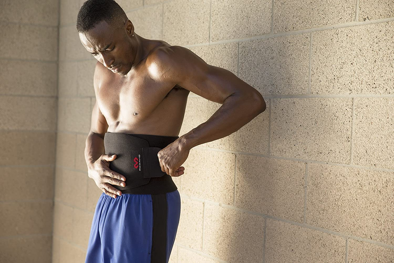 8af5f1a7658 Amazon.com  McDavid Waist Trimmer Belt Neoprene Fat Burning Sauna Waist  Trainer - Promotes Healthy Sweat