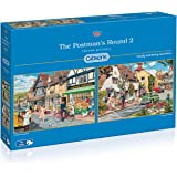 Gibsons The Postman's Round 2 Jigsaw Puzzle (2x500 Pieces)