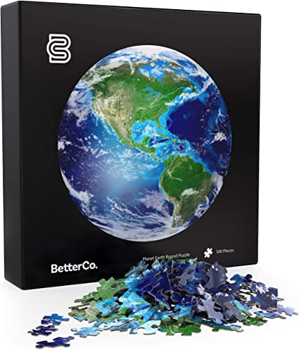 Amazon Com Betterco The Planet Earth Round Puzzle 500 Pieces Difficult Jigsaw Puzzles 500 Pieces Challenge Yourself With 500 Piece Puzzles For Adults Teens And Kids Planet Earth Globe Puzzle Toys Games A planet's gravity pulls equally from all sides. betterco the planet earth round puzzle 500 pieces difficult jigsaw puzzles 500 pieces challenge yourself with 500 piece puzzles for adults