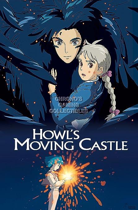 Amazon.com  CGC Huge Poster - Howl s Moving Castle Movie Poster ... c65434c47b