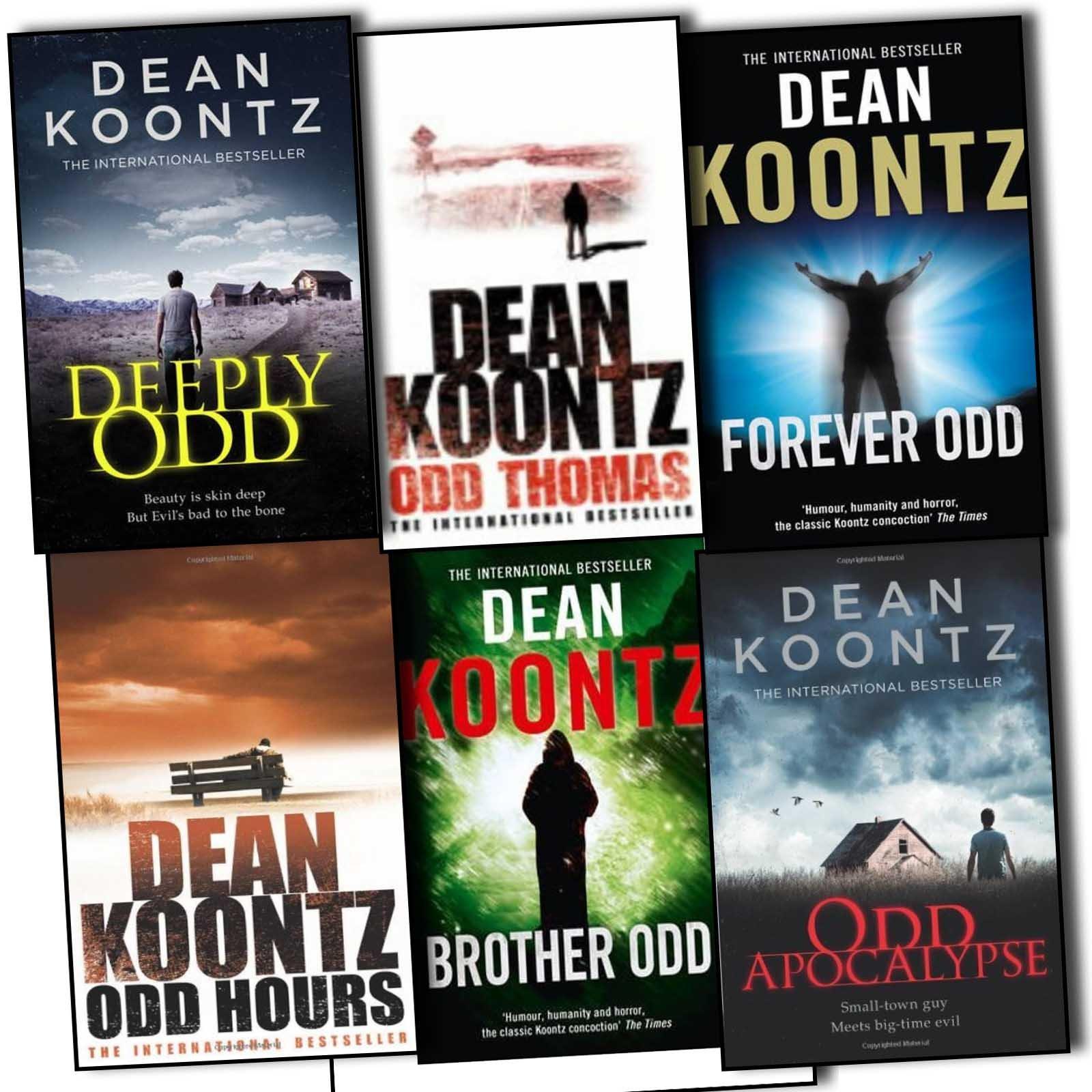 Download Dean. Koontz Odd Thomas series 6 Books Collection [Paperback] by Dean. Koontz ebook
