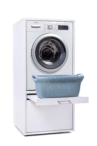 Mobili Per Lavatrici Ad Incasso.Waschturm Mobile Per Lavatrice Con Spazio Per Riporre Gli Oggetti