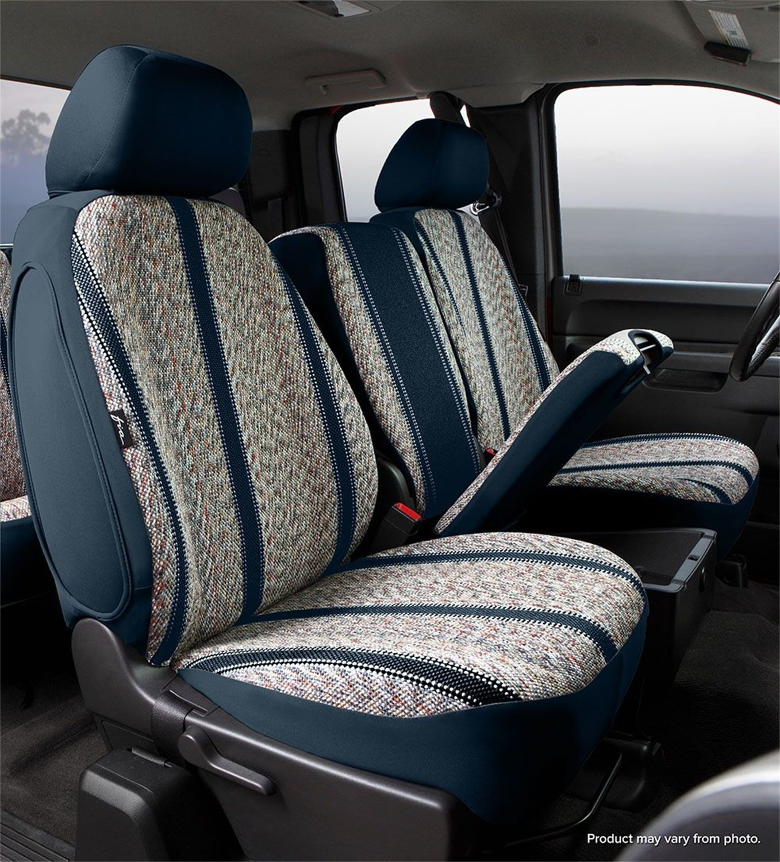 Fia TR42-24 BLACK Custom Fit Rear Seat Cover Split Seat 60//40 Black Saddle Blanket,